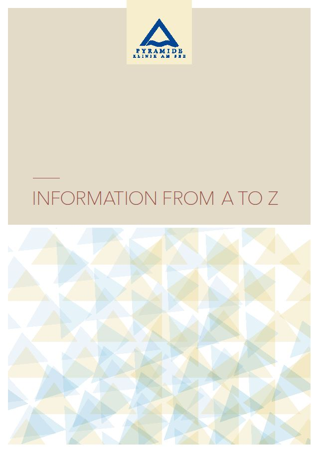Brochure «Information from A to Z»